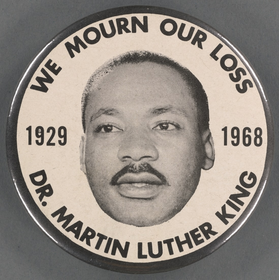 Face of Dr. Martin Luther King